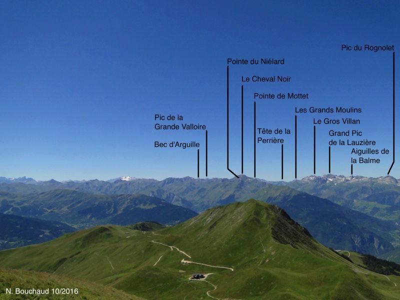 Bozel (la Cour) - Mont Jovet - Roc du Bécoin Dsc04710