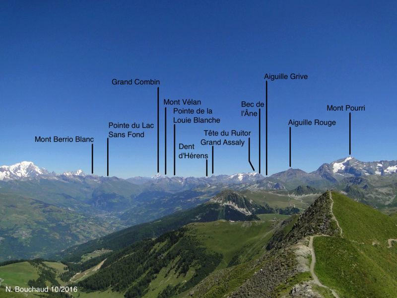 Bozel (la Cour) - Mont Jovet - Roc du Bécoin Dsc04711
