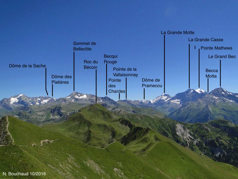 Bozel (la Cour) - Mont Jovet - Roc du Bécoin Dsc04712