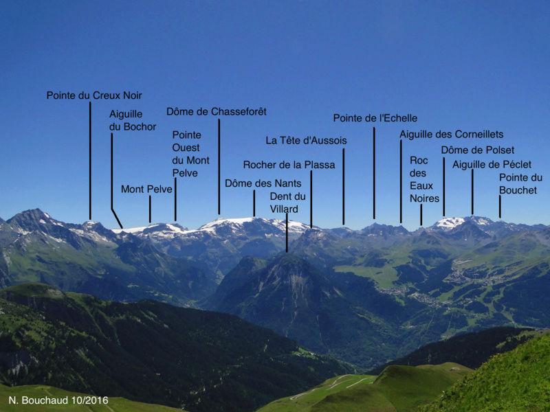 Bozel (la Cour) - Mont Jovet - Roc du Bécoin Dsc04713
