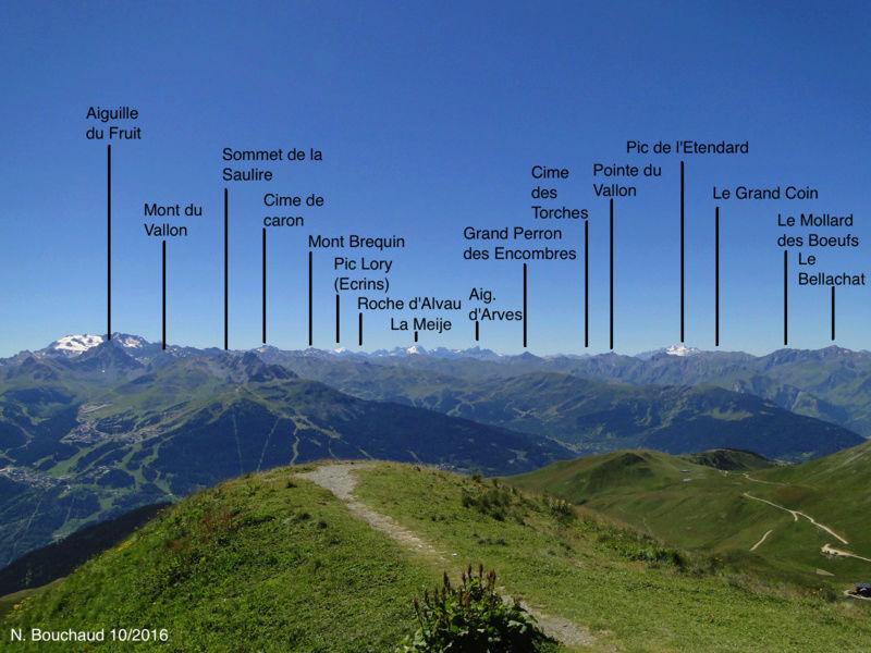 Bozel (la Cour) - Mont Jovet - Roc du Bécoin Dsc04714