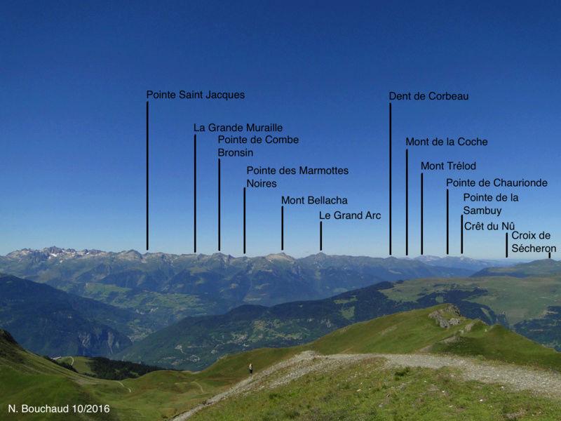 Bozel (la Cour) - Mont Jovet - Roc du Bécoin Dsc04716