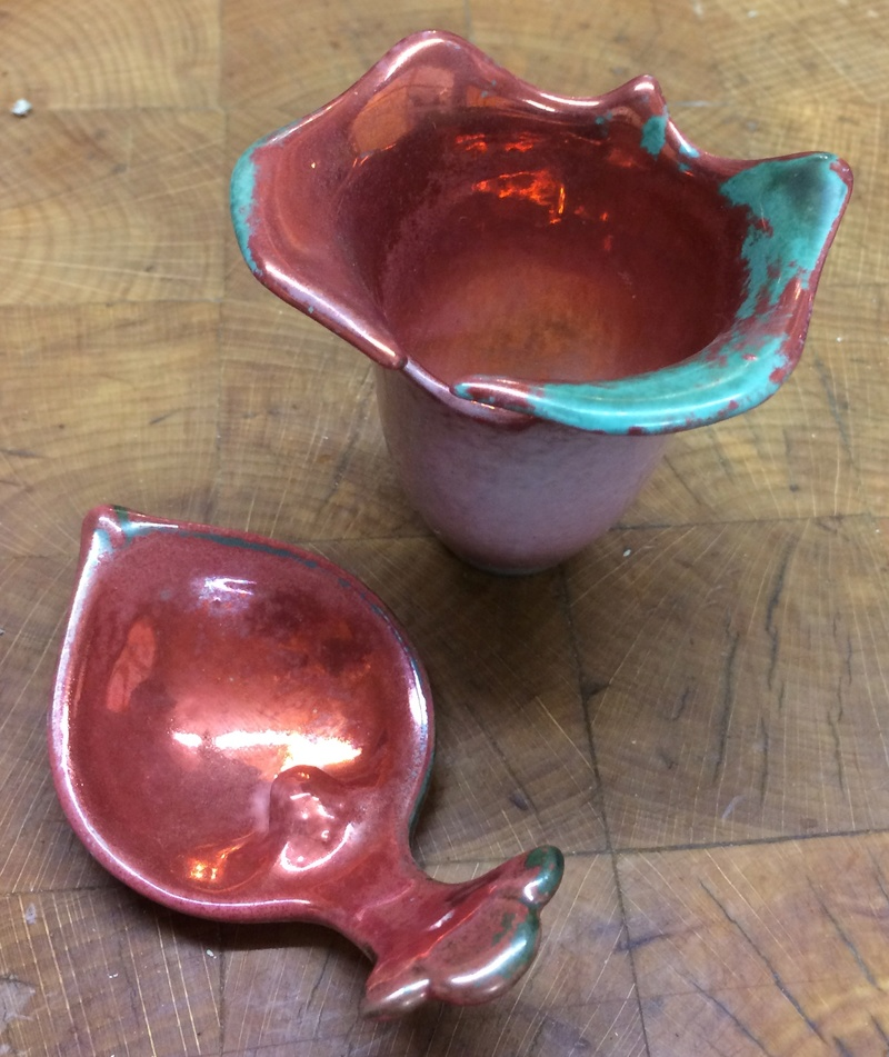 Unknown cup and spoon like a Pitcher Plant  Image131
