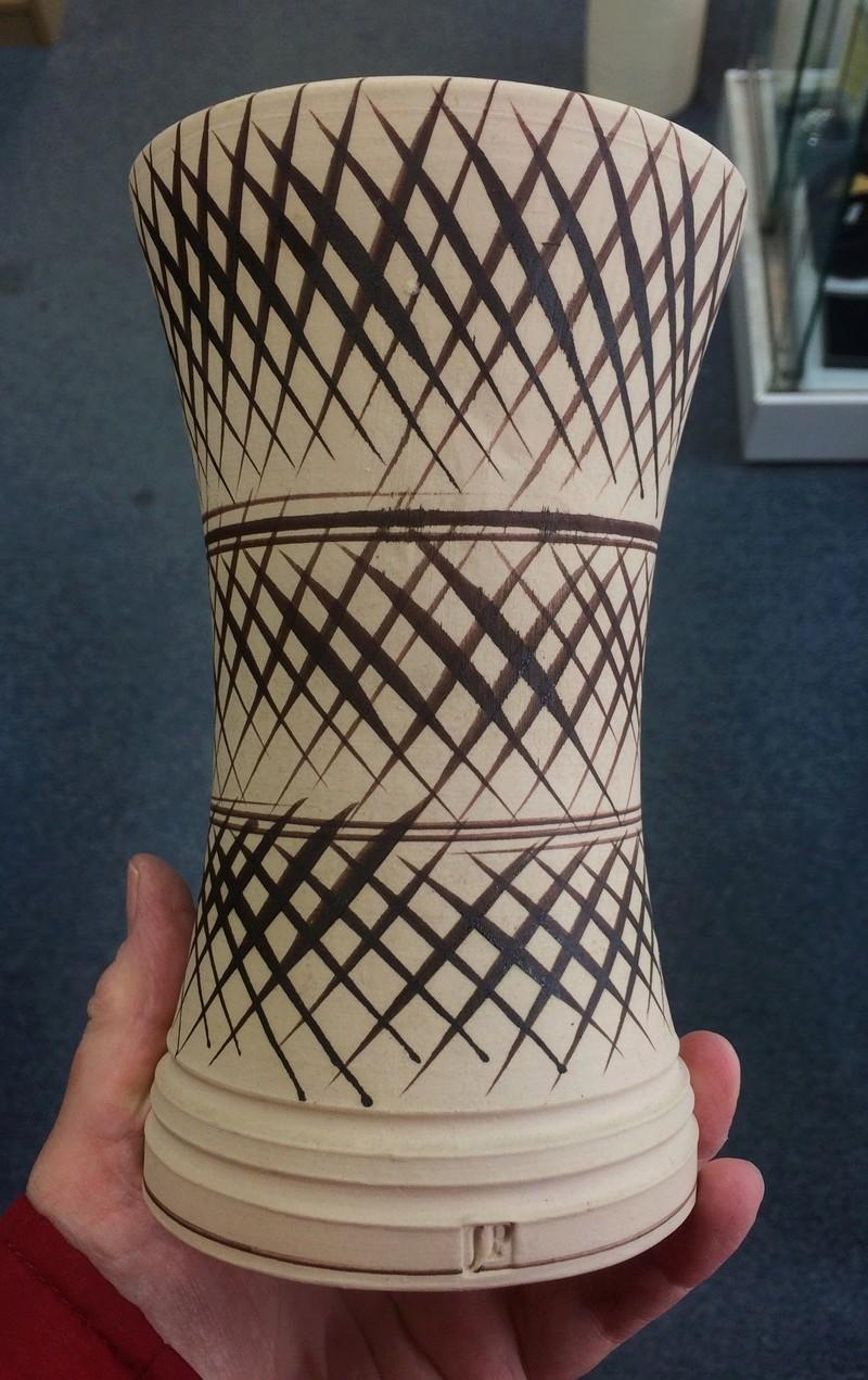 Unknown vase - JP mark Img_8917