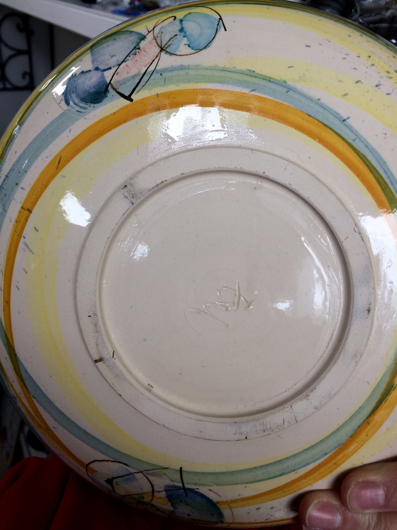 Unknown jug and plate Img_9815