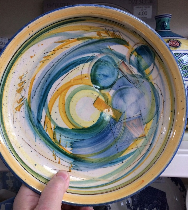 Unknown jug and plate Img_9817