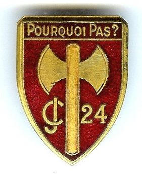 groupement - INSIGNE DU GROUPEMENT N°24 15046310