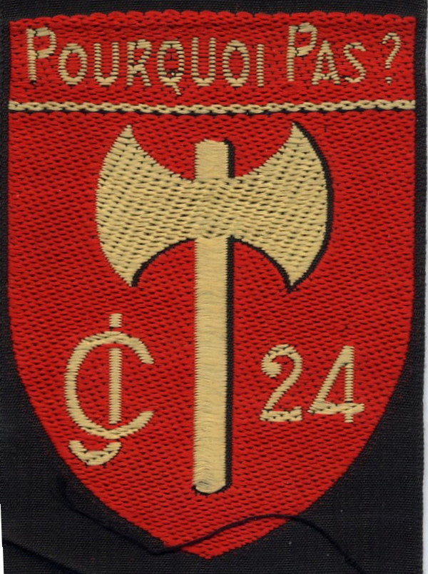 groupement - INSIGNE DU GROUPEMENT N°24 Cjf2410