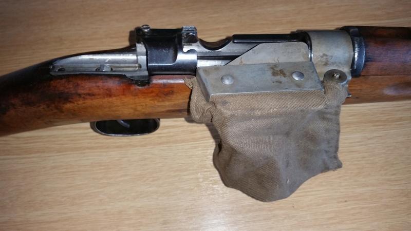 Sac récupérateur d'étuis Mauser Suédois M96 20161010