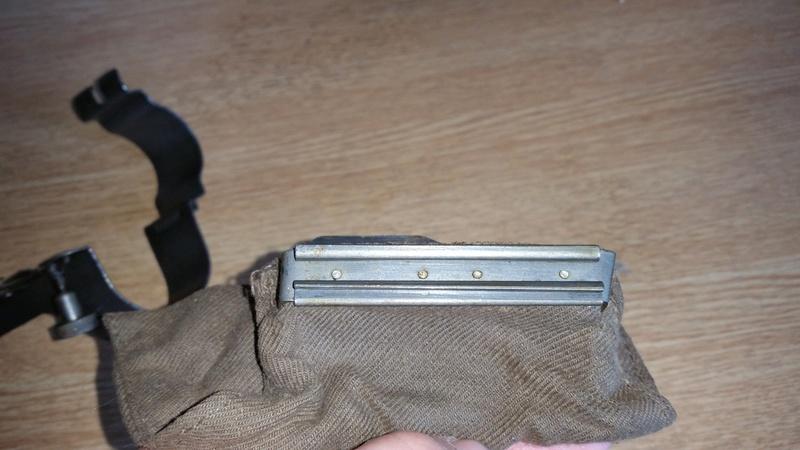 Sac récupérateur d'étuis Mauser Suédois M96 20161013