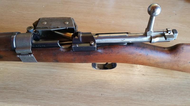 Sac récupérateur d'étuis Mauser Suédois M96 20161111