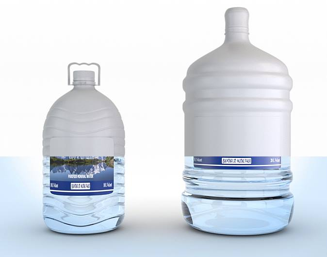 Mineral water 3D packshot in cycles for 1500 14729210