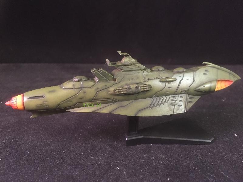 """SPACE BATTLE SHIP """"YAMATO"""" (Origine : Japon, Echelle : Trés Grande) Img_4018"""