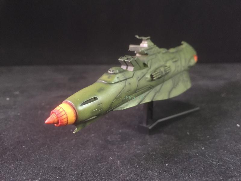 """SPACE BATTLE SHIP """"YAMATO"""" (Origine : Japon, Echelle : Trés Grande) Img_4019"""