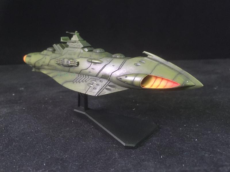 """SPACE BATTLE SHIP """"YAMATO"""" (Origine : Japon, Echelle : Trés Grande) Img_4020"""