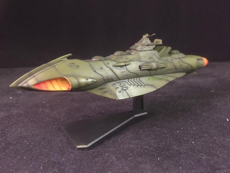 """SPACE BATTLE SHIP """"YAMATO"""" (Origine : Japon, Echelle : Trés Grande) Img_4021"""