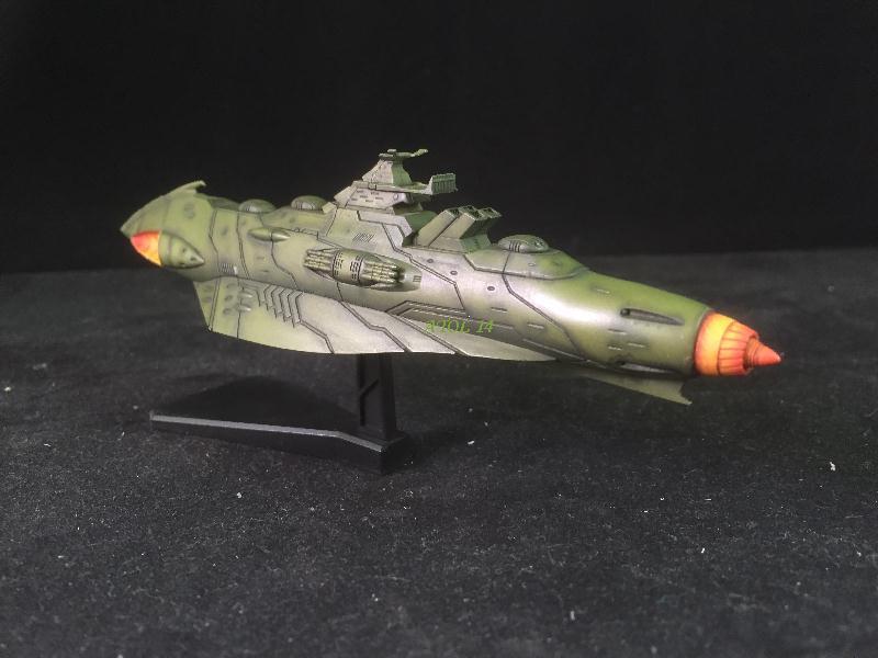 """SPACE BATTLE SHIP """"YAMATO"""" (Origine : Japon, Echelle : Trés Grande) Img_4022"""