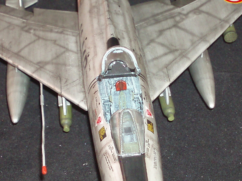 North American F100-D  ESCI 1/48 P1010117