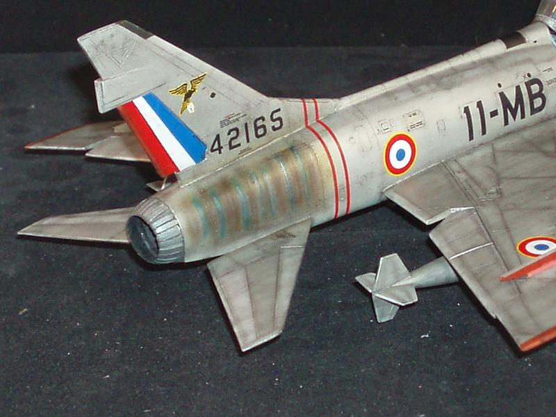 North American F100-D  ESCI 1/48 P1010118