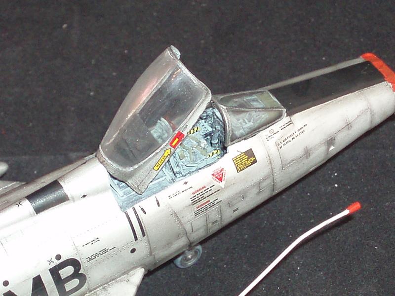 North American F100-D  ESCI 1/48 P1010121
