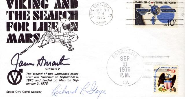 Philatélie spatiale USA - 1978 - Viking sur Mars 1976_012