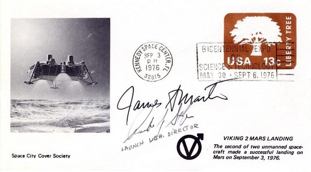 Philatélie spatiale USA - 1978 - Viking sur Mars 1976_013