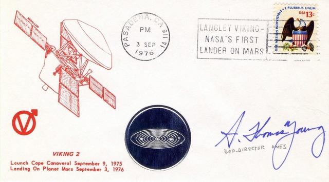 Philatélie spatiale USA - 1978 - Viking sur Mars 1976_014