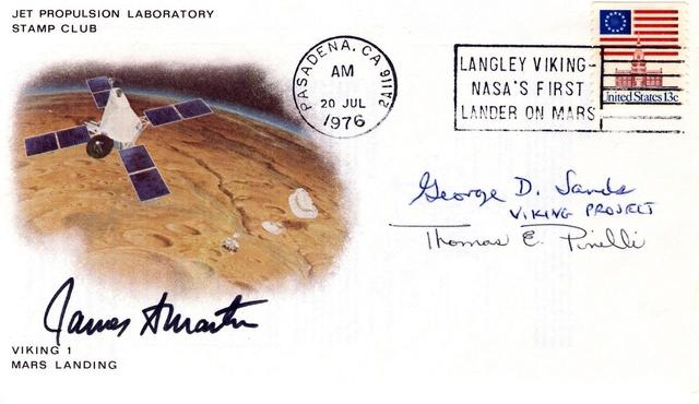 Philatélie spatiale USA - 1978 - Viking sur Mars 1976_015