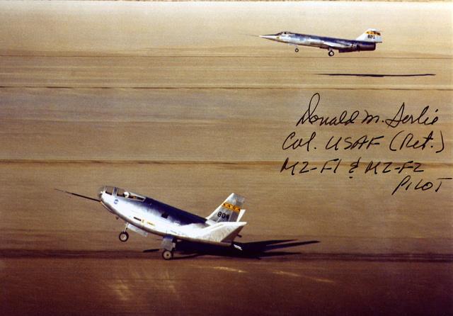 Disparition du pilote d'essais Donald Sorlie (1923-2016) 31834810