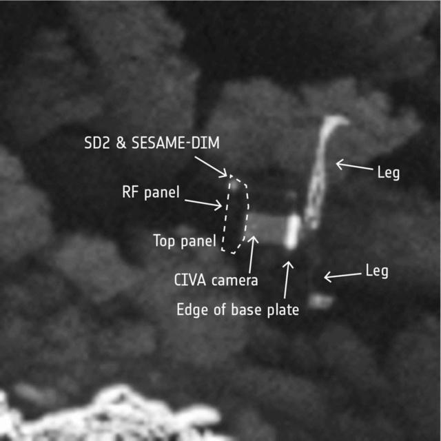 Rosetta - Réveil de la sonde / Mission / Atterrissage de Philae - Page 4 Philae10