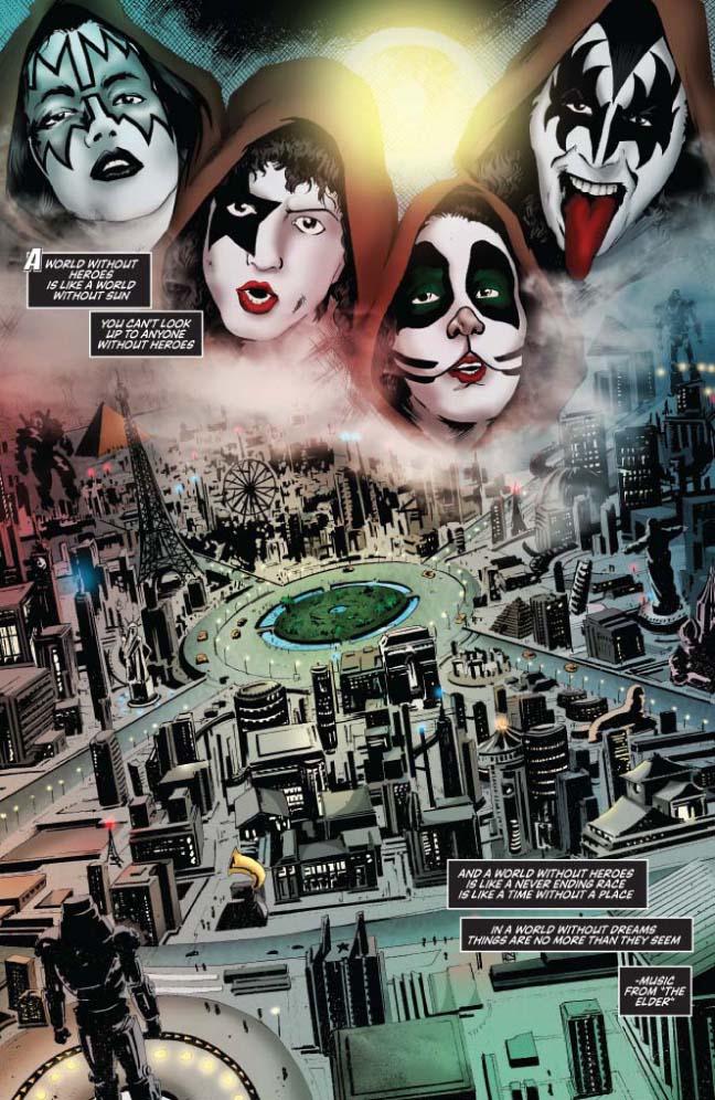 new KISS comics  Kiss1110