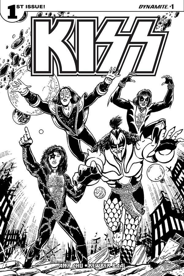 new KISS comics  Kiss1i10