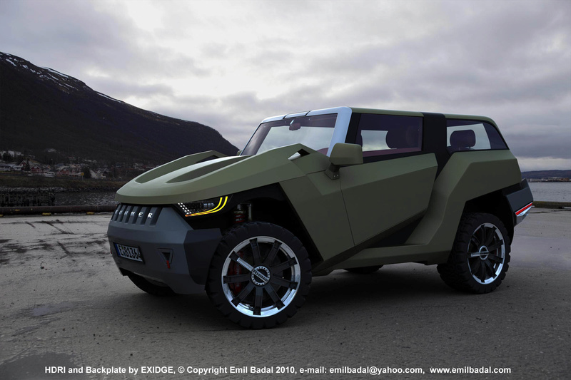 Comment sera le futur Hummer ? pour 2017  99c55210