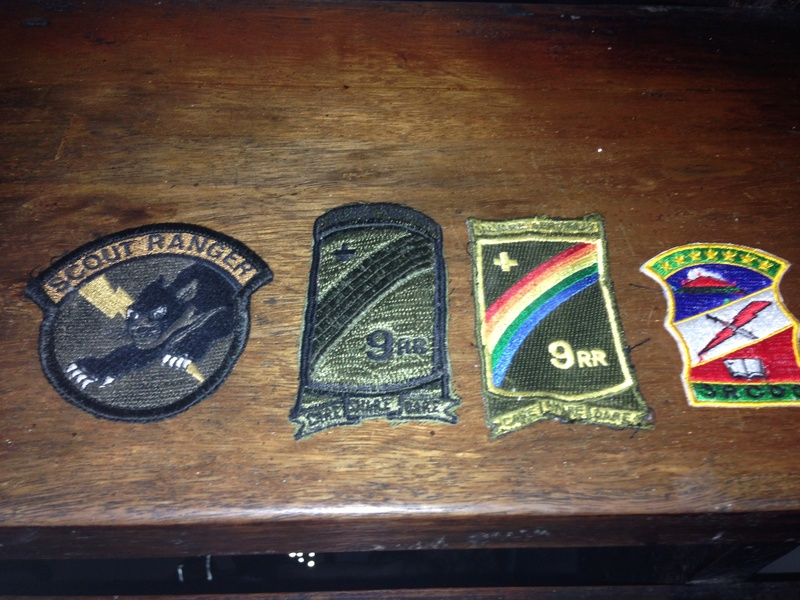 Philippine Army Rucksack and Patches Image10