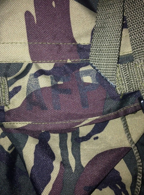 Philippine Army Rucksack and Patches Image13