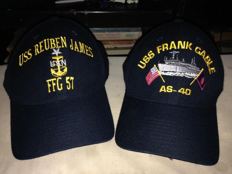 Navy ballcaps.  Image43