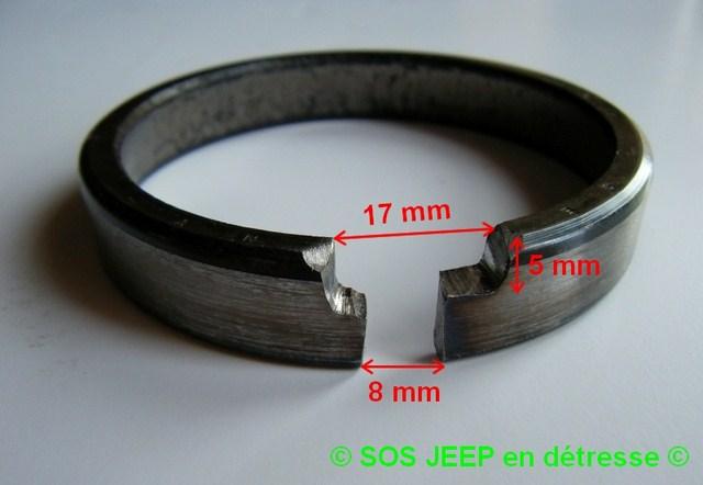 Outil pour mettre en place les cônes de roulement dans le moyeu-tambour de frein Dscf7012