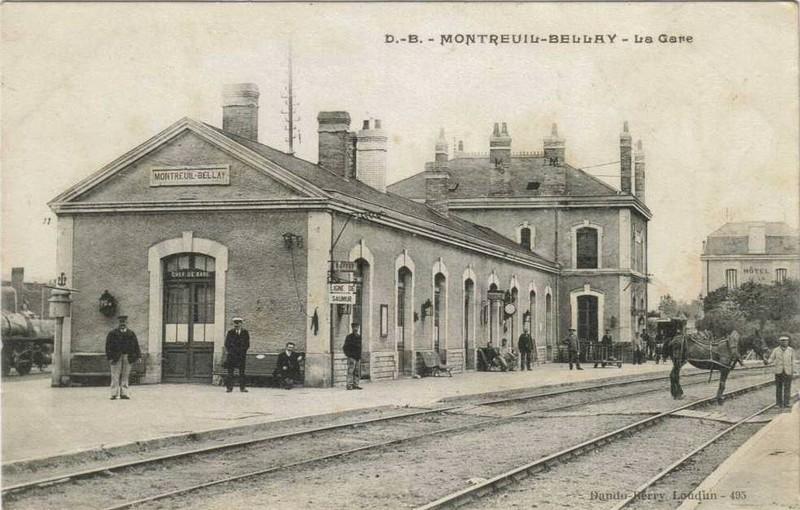 Gare de Montreuil-Bellay (PK 307,2)  Gare6510