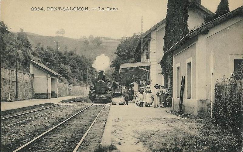 Ligne de Firminy (42) à Saint-Rambert-d'Albon (26) Gare7710
