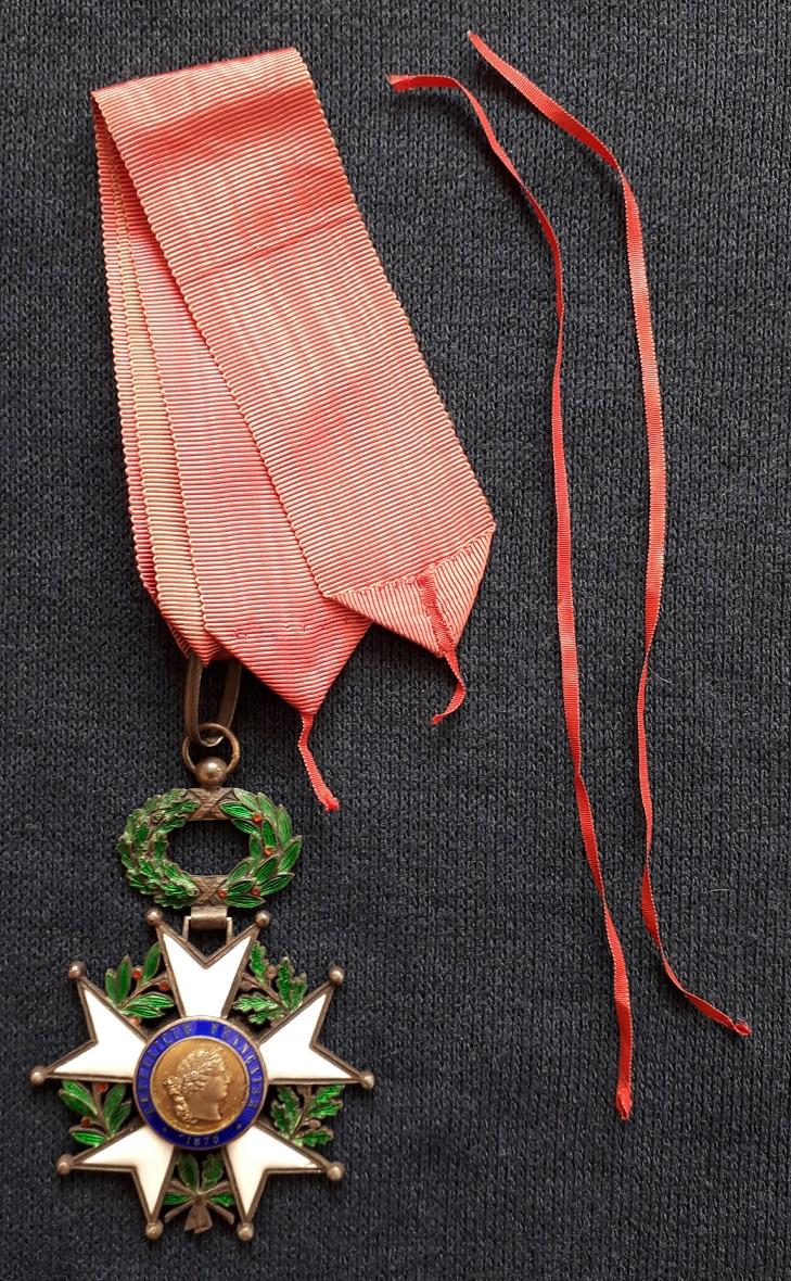 Croix de Commandeur de la légion d'honneur 3ème république: A42