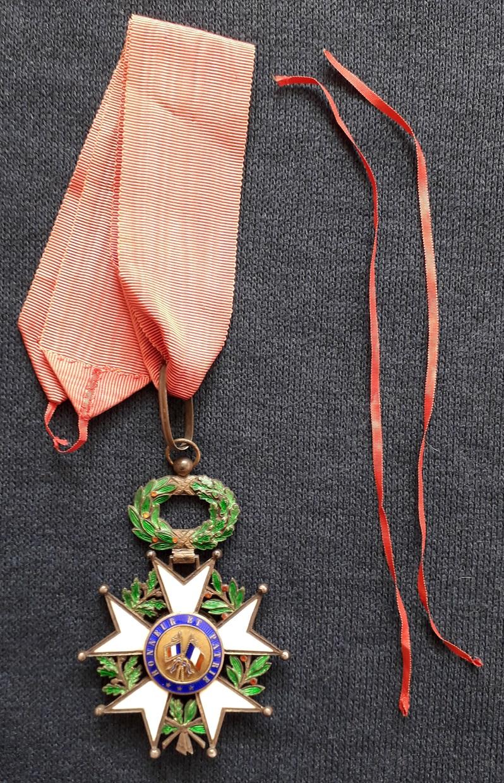 Croix de Commandeur de la légion d'honneur 3ème république: B40