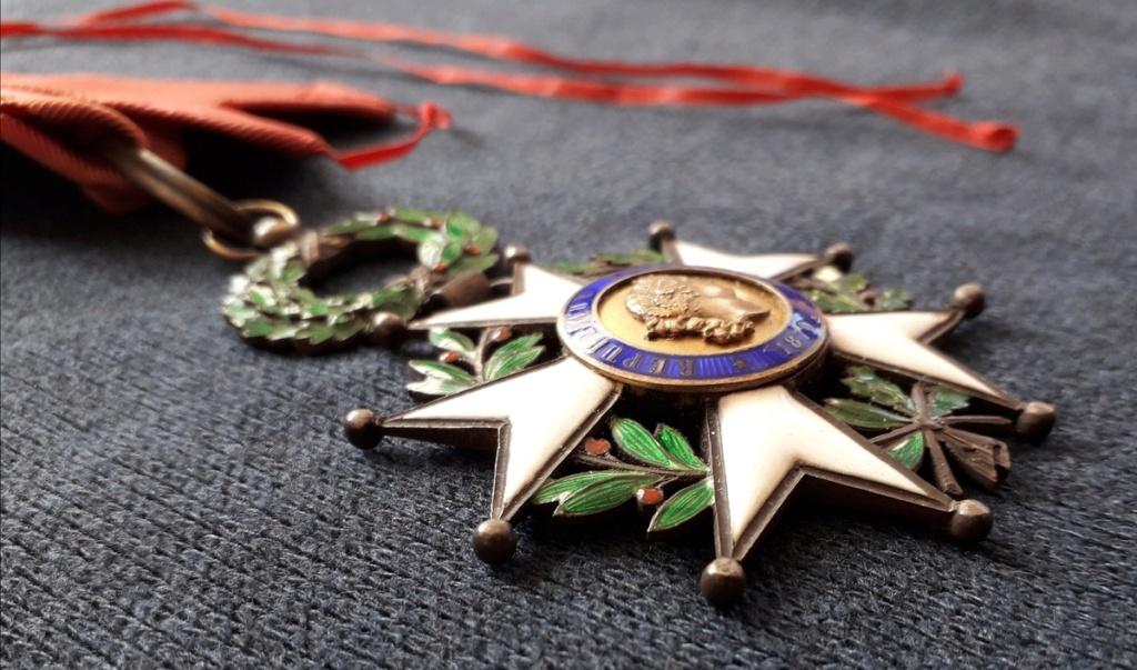 Croix de Commandeur de la légion d'honneur 3ème république: D37