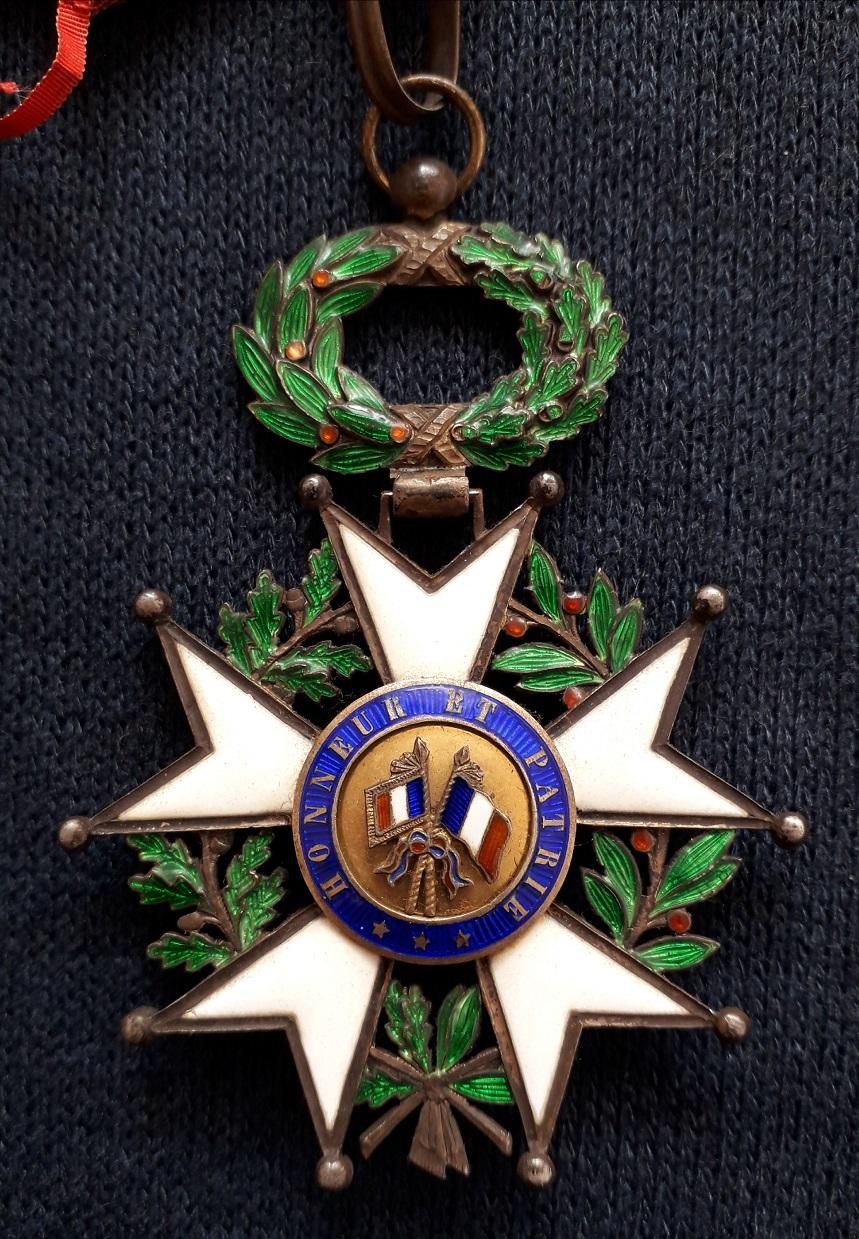 Croix de Commandeur de la légion d'honneur 3ème république: E36