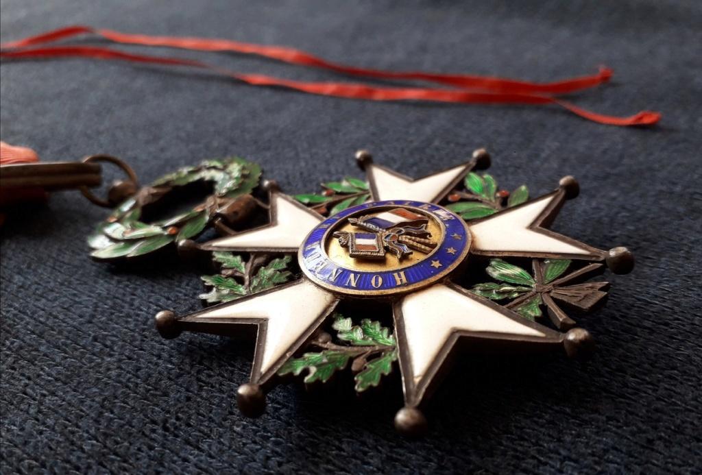 Croix de Commandeur de la légion d'honneur 3ème république: F34