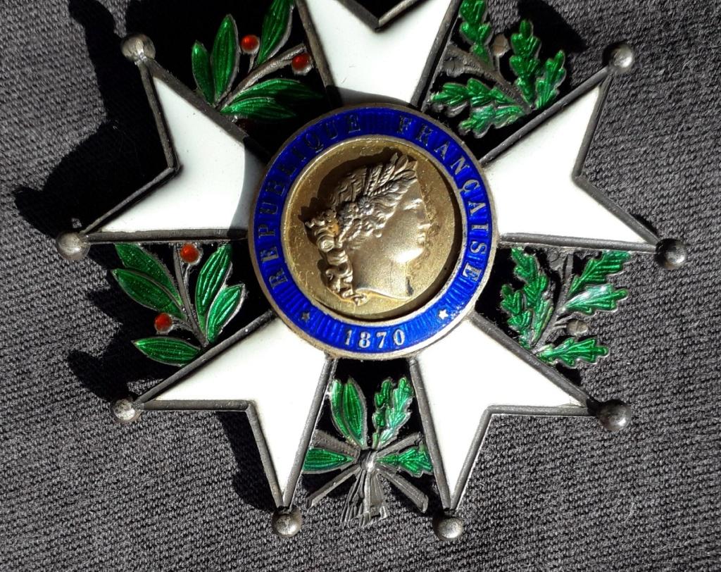 Croix de Commandeur de la légion d'honneur 3ème république: J20