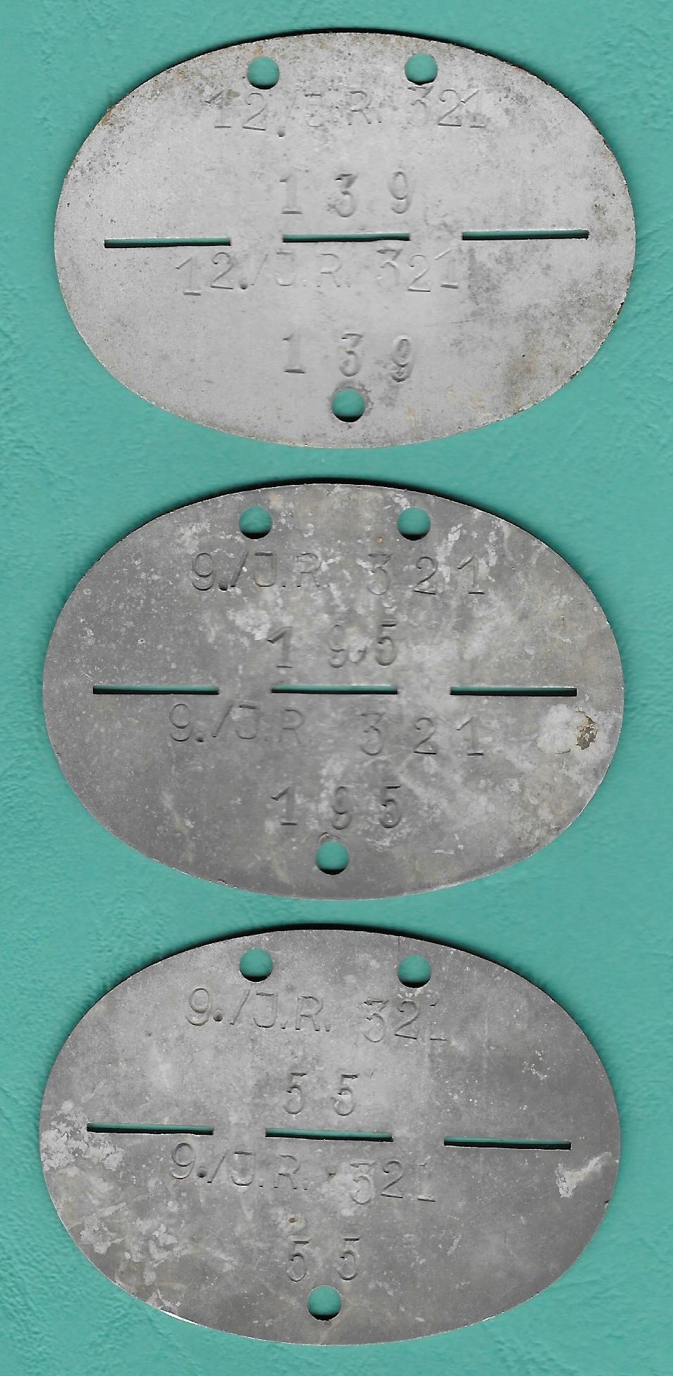 Plaque d'identification allemande WW2 Plaque12