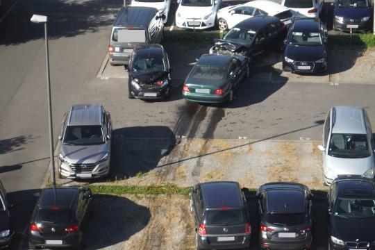 une septuagénaire a emboutit 15 voitures 540_3610