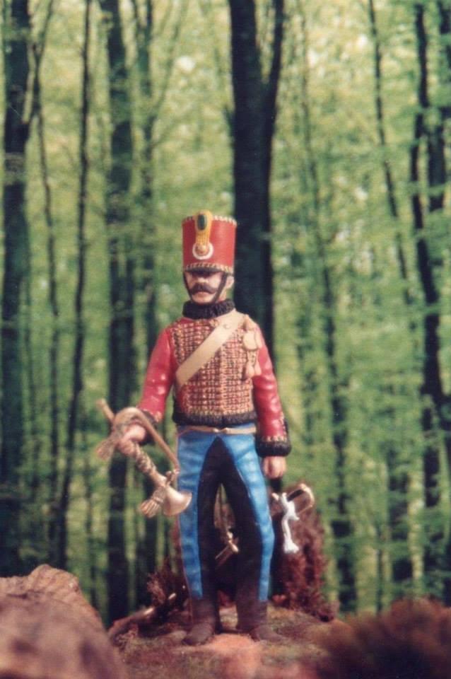 Chasseur à Cheval 2ème régiment Jeune Garde 1814-1815 10701910