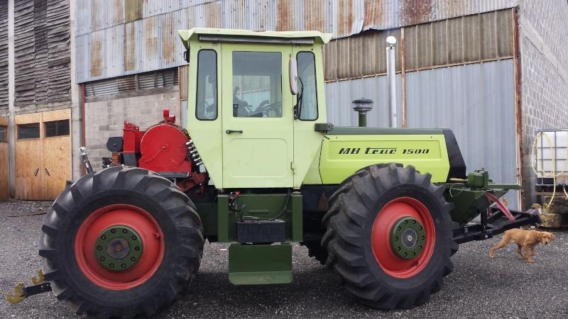 MB Trac 1500 Forestier (ex-Ardéch'Trac) 1011