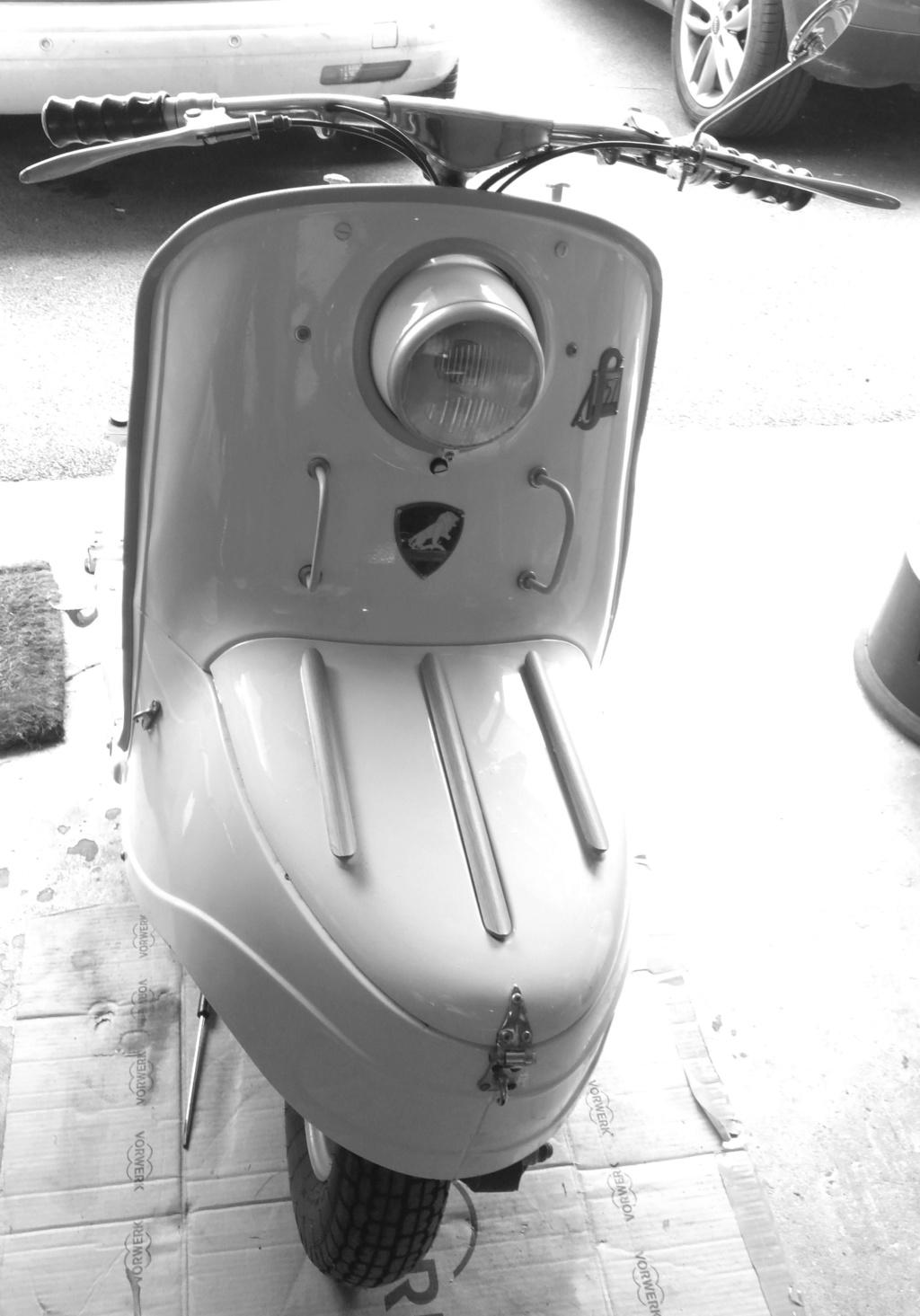 Une sortie de mon garage: un S57.... de 1956, peu roulé depuis son achat !!! Face_a10